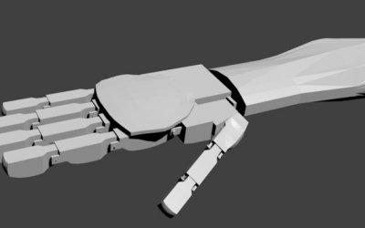 3D Robot Modelleri